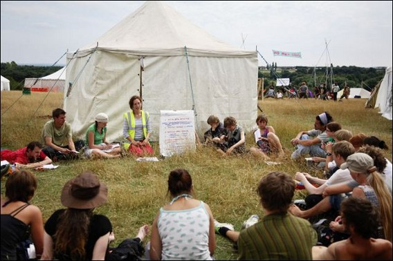 Climate Camp Kent, Kingsnorth, 2008