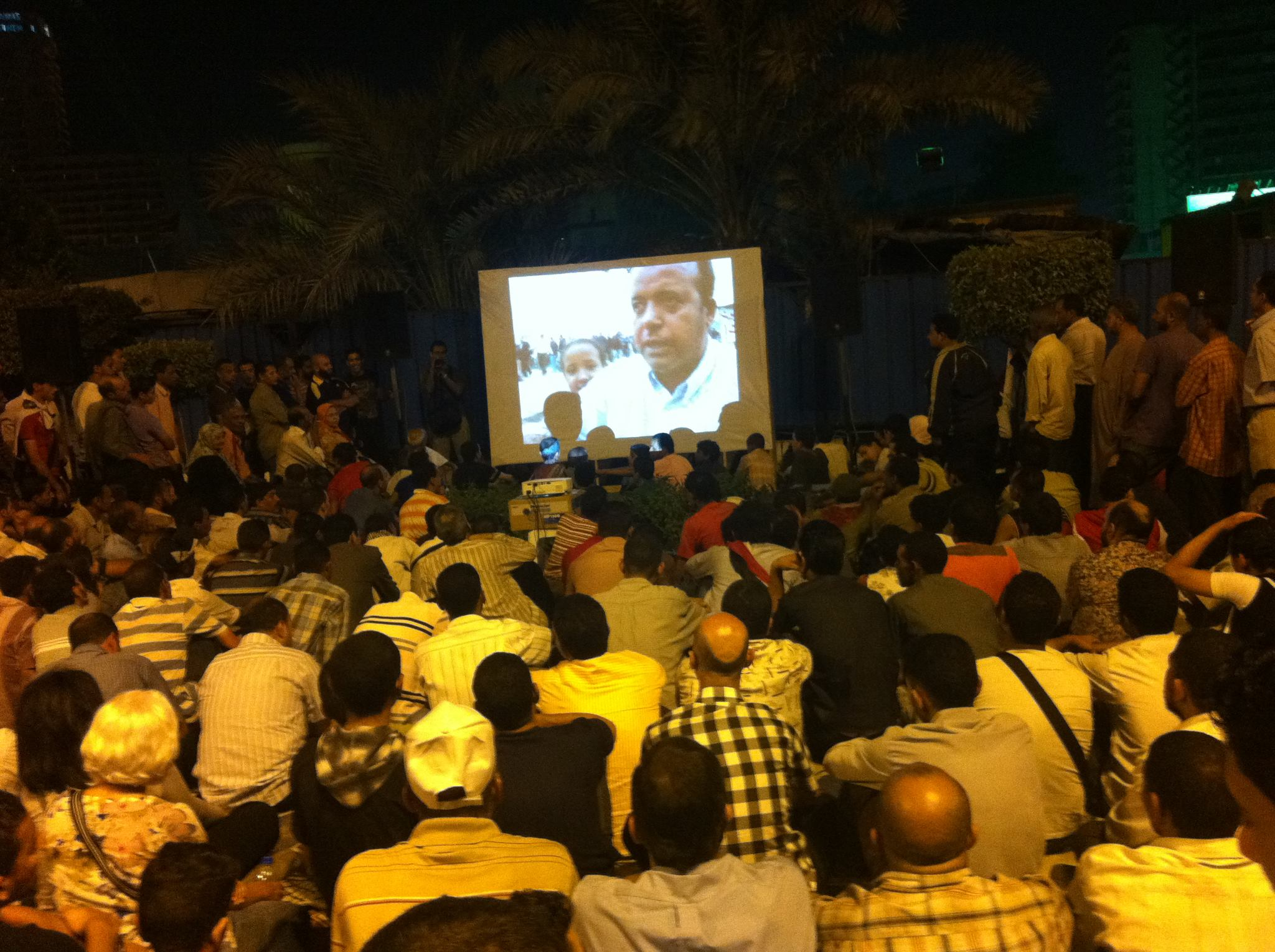 Tahrir Cinema screening